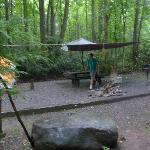 Tent site #23