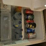 fridge is full, no space for my own drinks