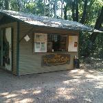 Kiosk at Berry Springs