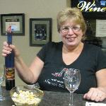 Our hostess, Joann.