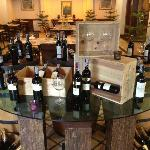 Wine at Entrance