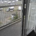 A wee little balcony