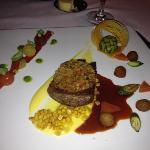 amazing beef dish from the Sunday night set dinner menu!