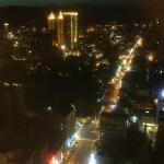Night view from 30th storey room