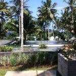 Aussicht aus der ocean view Villa