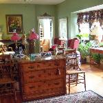 Living Room of Hambleton House B&B