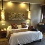 Bedroom in a bungalow