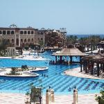 Sister hotel pools