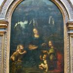 Da Vinci, la vergine delle rocce