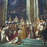 Louis david, inconorazione di Napoleone