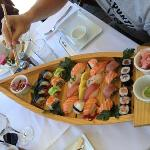 assortiment de 28 sushis