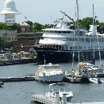 Cruise ship Yorktown, in port July 19 2012