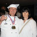 Owner(chef) and his wife(chef)