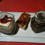 array of small desserts