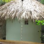 One of several nice shower huts