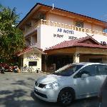 External view of motel