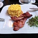 Classy scrambled eggs