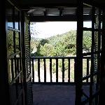Balkon met uitzicht.