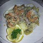 shrimp scampi (small plate )