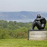 Aristede Malliol's sculpture 'Night' on the grounds of Kykuit