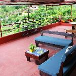Villas Jacquelina Patio, eco friendly specialty lodging Quepos, Manuel Antonio Costa Rica