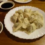 Delicious pork & shrimp dumplings!