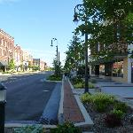 Long Shot of Downtown Statesville,