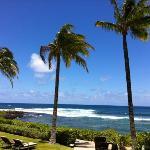 Ocean view from resort