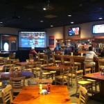 Main bar with big screen