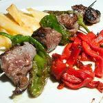 Brocheta de Solomillo / Sirloin and Green peppers skewer