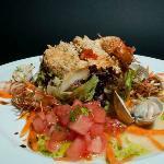 Ensalada de Txangurro / Salad with crab