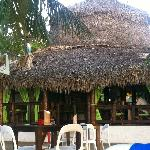 The Lazy Dog Beach Bar and Grill...Hut