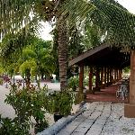 Entering the tranquil, idyllic grounds of the Senari Bay Resort