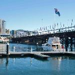 Looking over Darling Harbour