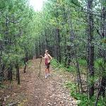 hiking near Deadwood Gulch