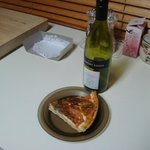 A very expensive slice of quiche.