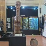 African artwork at the Archives