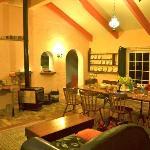 Stube des Cottages