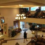 lobby view from 2nd floor balcony