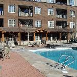 River Run Example Pool Area Located At Dakota Lodg