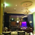 Main dining area looking towards bar
