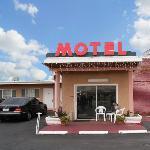 Tropic Motel Lancaster CAExterior
