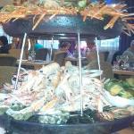 Plateau de fruits de mer au Kastel