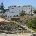 scale dalla spiaggia all'hotel