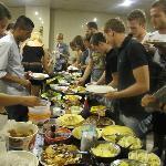 Activity: International Dinner Night at the restaurant