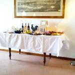 la colazione....anzi la grande abbuffata!!!!