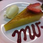 caramelised lemon tart
