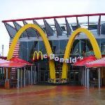 McDonalds @ Disney Village in Disneyland Paris