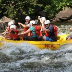 Out on the Upper Pigeon River with NOC