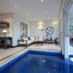 piscina aquecida garante momento de lazer!